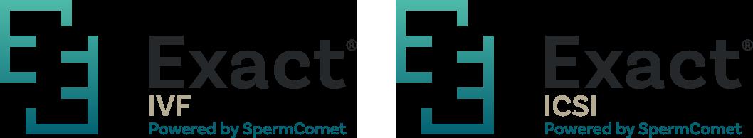 Exact IVF and Exact ICSI logos