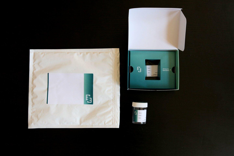 Examen test box delivered